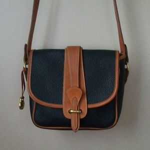 Dooney and bourke vintage leather crossbody AWL